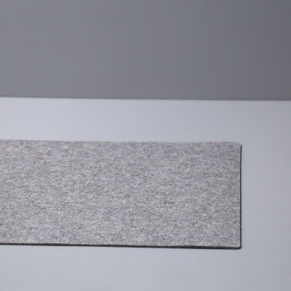 Graf Lantz Felt Table Runner / Granite