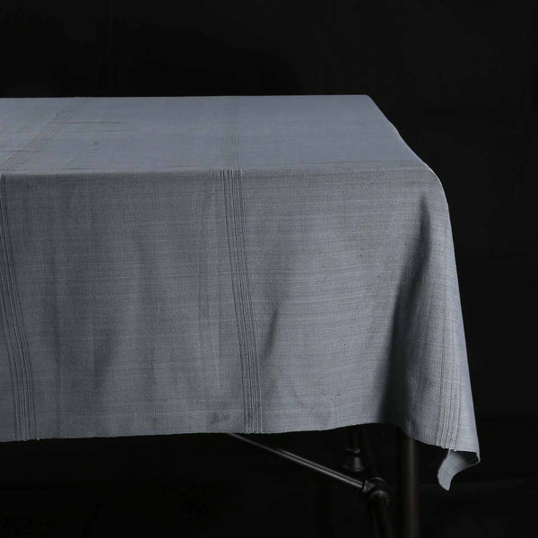 Hand Woven Heavyweight Cotton Table Cloth / Mushroom