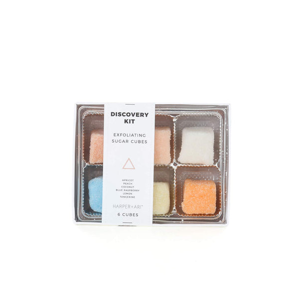 Exfoliating Bath Sugar Cubes / 6pc Box Set