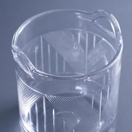 Bleecker Street Etched Ice Bucket
