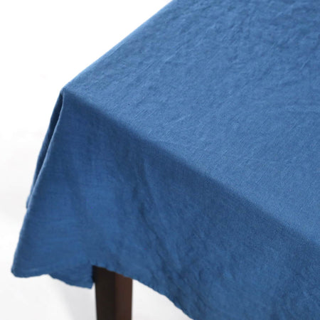 Terra Linen Rectangle Tablecloths / Jeans