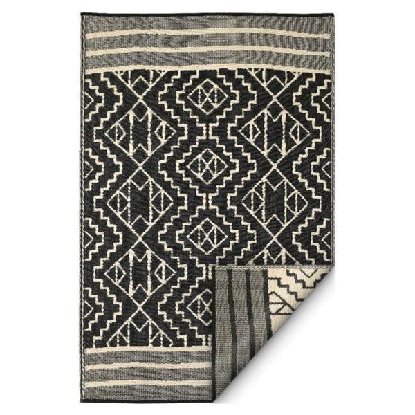 Recycled Plastic Indoor/Outdoor Rugs / Kilimanjaro Black