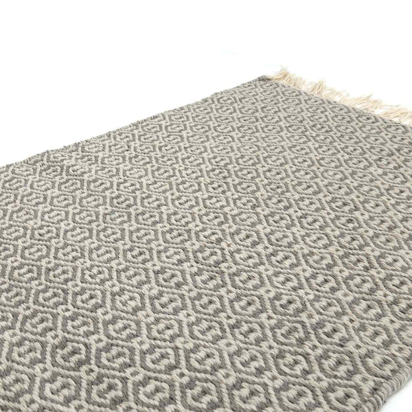 Recycled Plastic ( P.E.T. ) Indoor/Outdoor Rugs / Lancut Grey