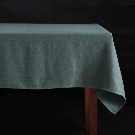 Lara Linen Rectangle Tablecloths / Balsam