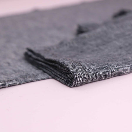 Vikolino Linen Napkin Sets (4pc) / Charcoal