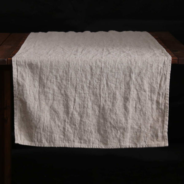 Terra Linen Table Runners /  Natural
