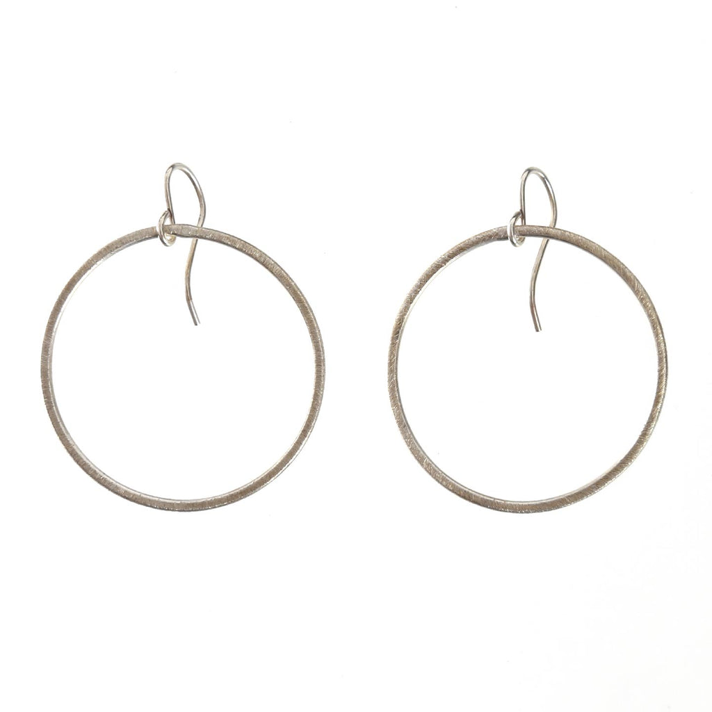 Textured Hoop Earrings / Small