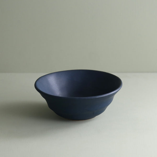 Marcus Matte Navy Soup / Cereal Bowl
