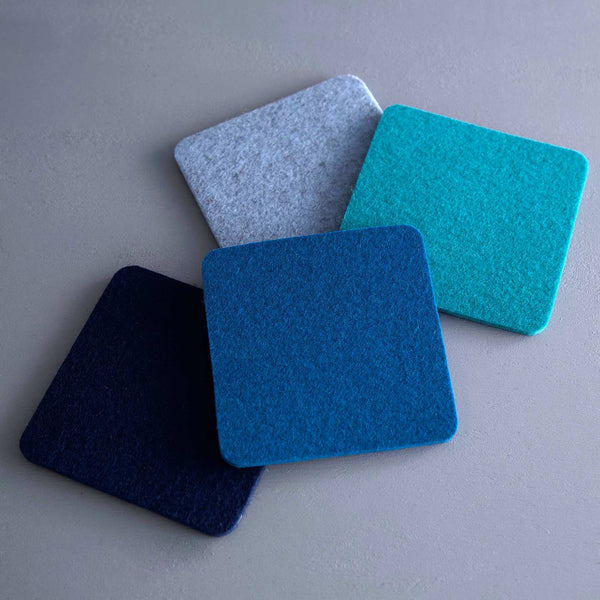 Graf Lantz 4pc Coaster Assorted Pack / Ocean