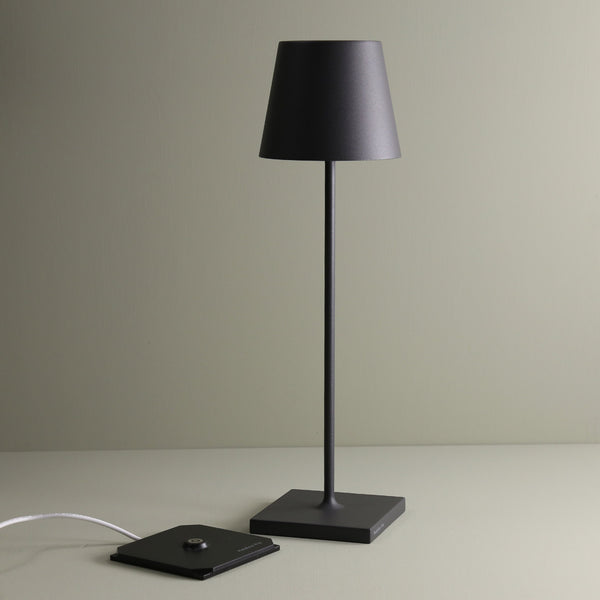 Wireless LED Table Lamp / Grey