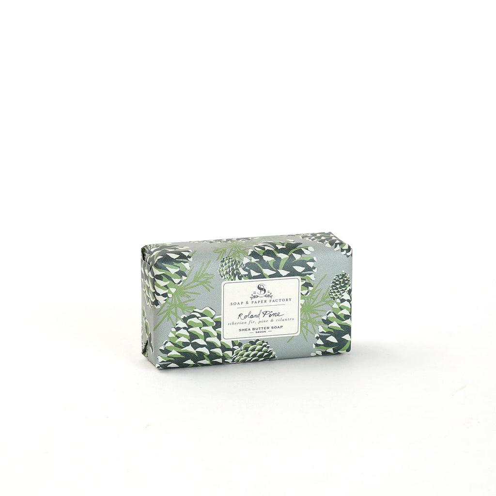Roland Pine Shea Butter Soap Bar