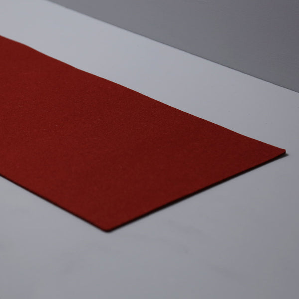 Graf Lantz Felt Table Runner / Rosewood