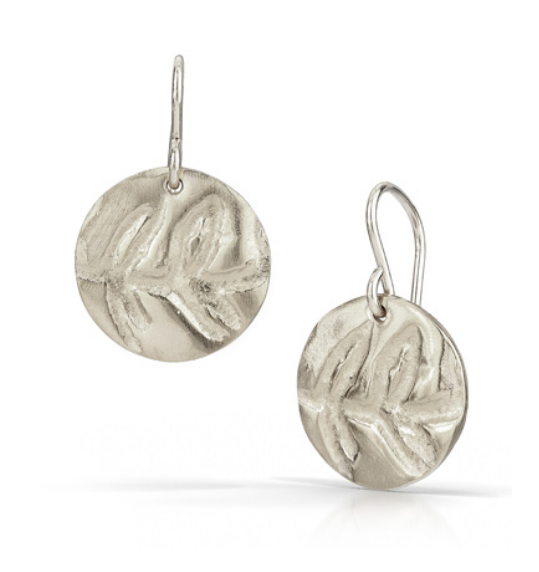 Fern Print Earrings