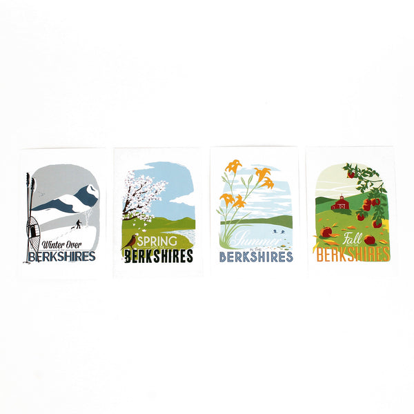 Berkshire Seasons Postcards