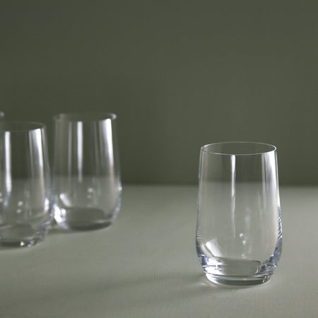 Pure & Simple Chardonnay Glass (4pc) / Stemless