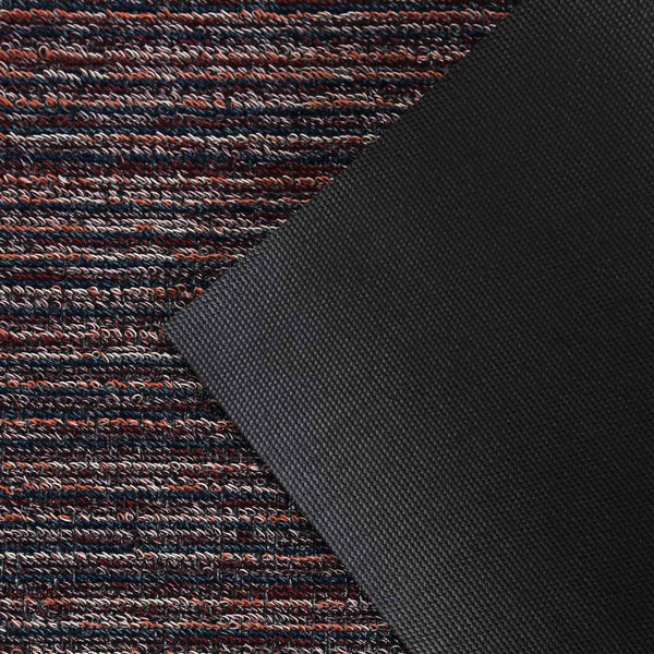 Chilewich Shag Rugs / Skinny Stripe Mulberry