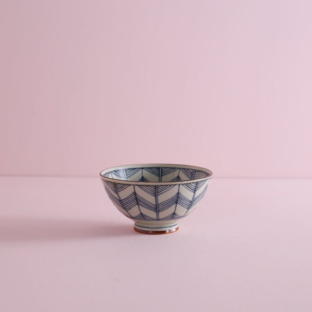 Small Pattern Rice Bowl - Star
