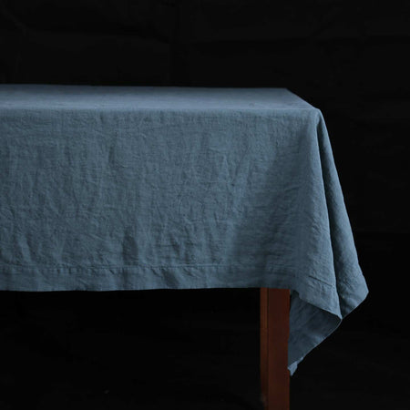 Stonewashed Linen Tablecloths / Balsam