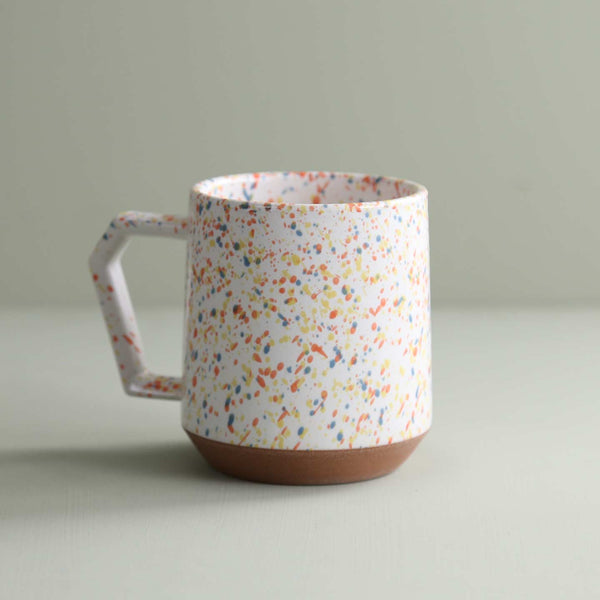 Chips Mug / White Splash