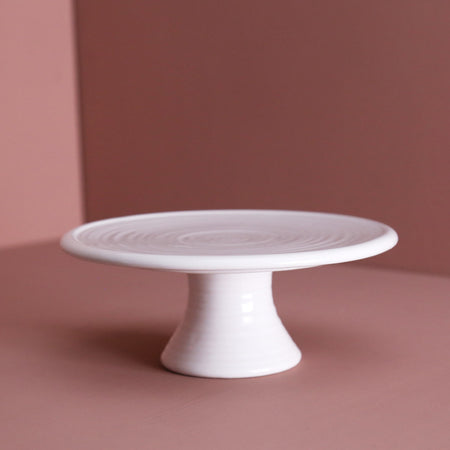 Carnival Footed Ceramic Cake Stand