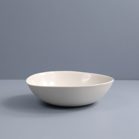 Davistudio Veggie Serving Bowl / White