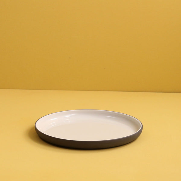 Archive Salad Plate / Dark Grey