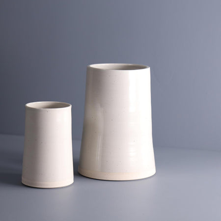 W/R/F Thrown Ceramic Vases / Mist