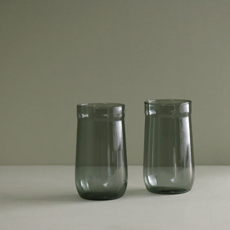 Angle Bell Highball Glass / 2pc