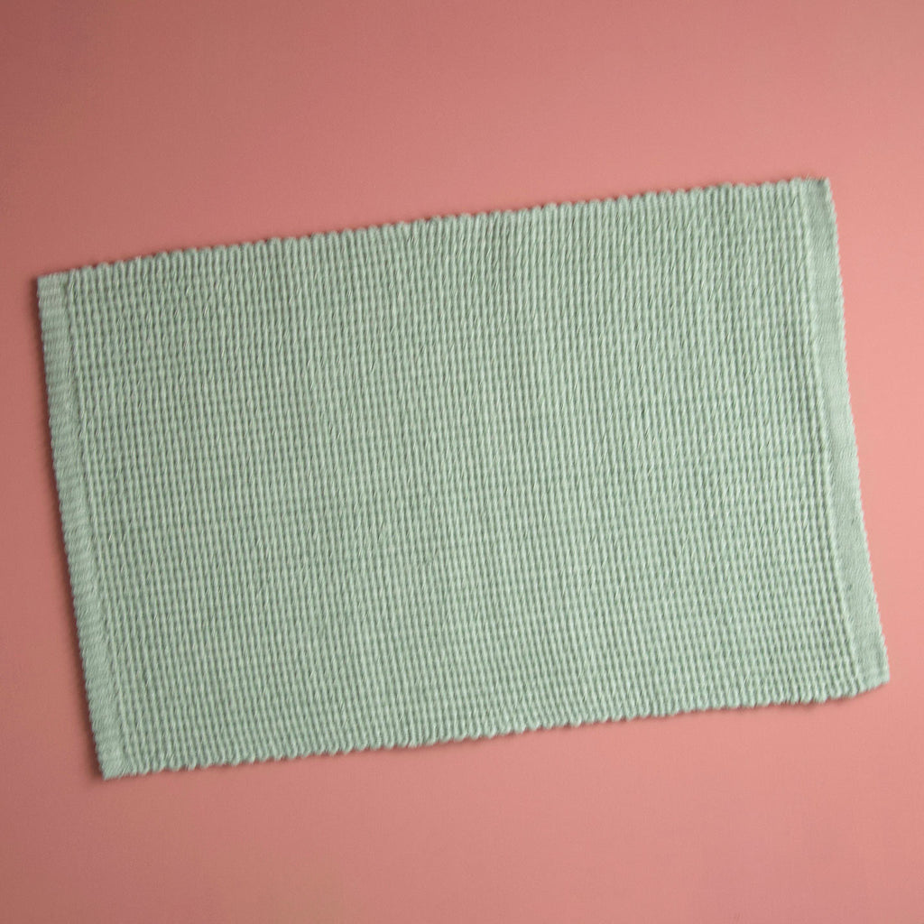 Homespun Solid Placemat / Celery