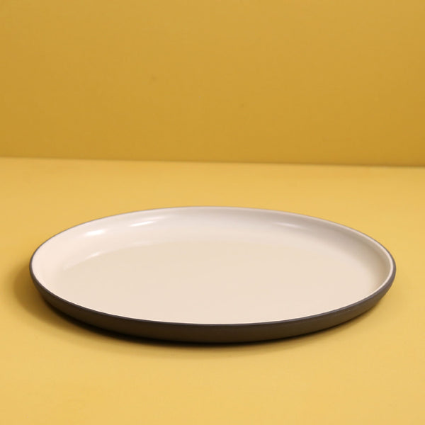 Archive Dinner Plate / Dark Grey