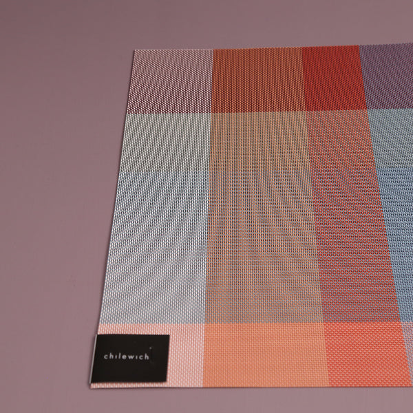 Chilewich Vinyl Placemats / Chroma Dusk Rectangle