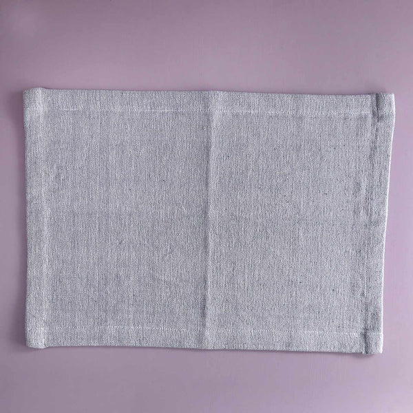 Hand-Woven Heavyweight Cotton Placemats / Sea Salt