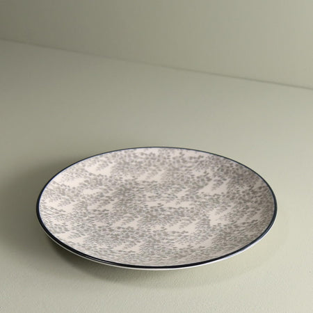 TUE Pattern Salad Plate /  Fantasy Grey