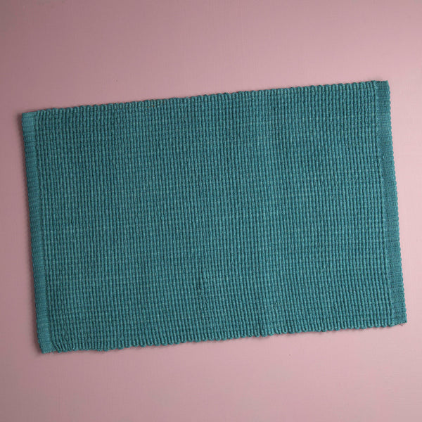 Homespun Solid Placemat / Marine Green