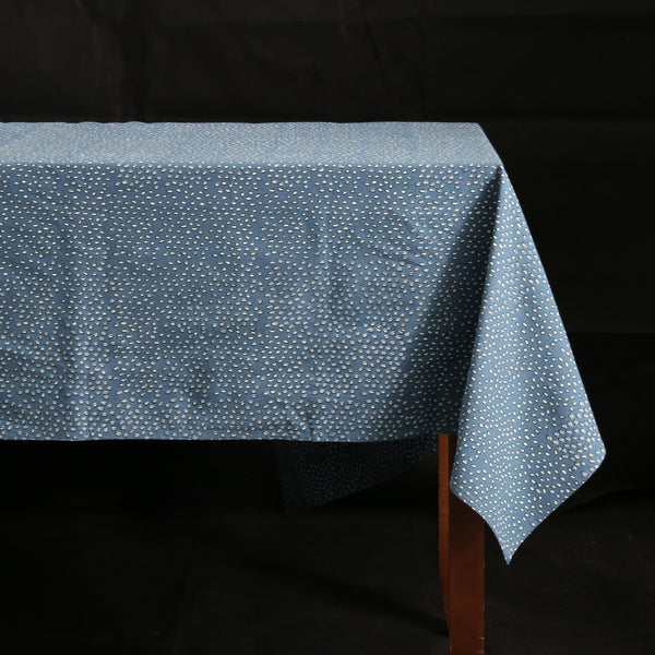 Block Print Tablecloth / Leo Cloud