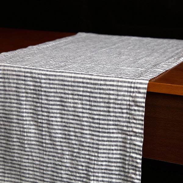 Stripes Linen Table Runner