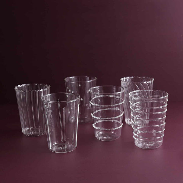 Livenza Drinking Glasses / Set of 6 Assorted