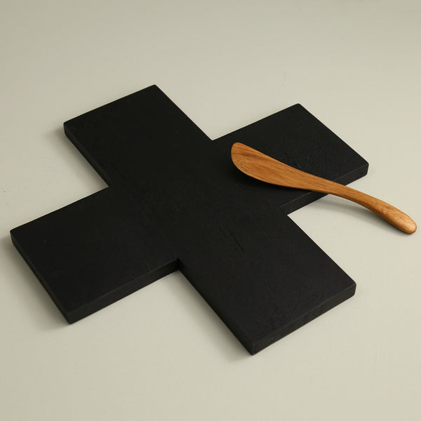 Icon Black Wood Serving Board