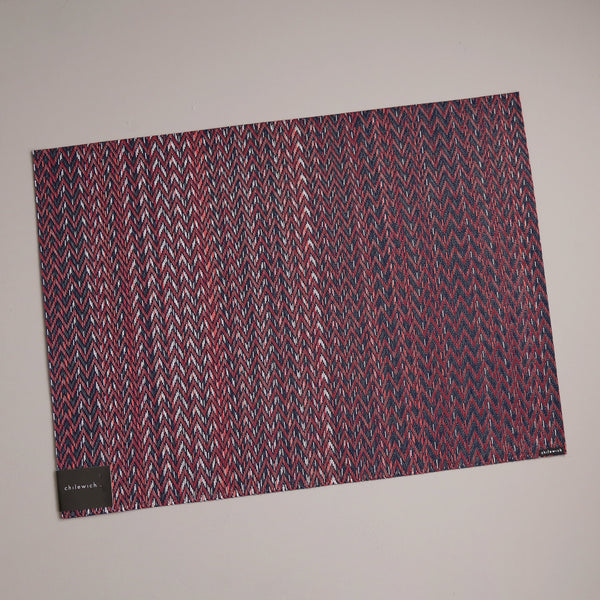 Chilewich Vinyl Placemats / Quill Mulberry Rectangle