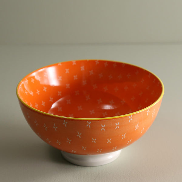 TUE Pattern Bowls /  Orange