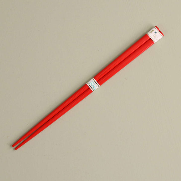 Red Lacquered Chopsticks / One Pair
