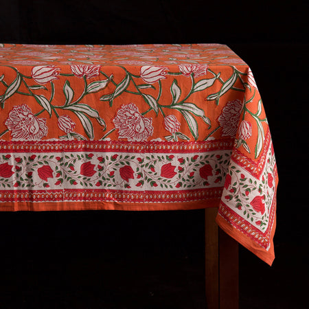 Saimur Block Print Rectangle Tablecloths
