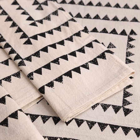 Sawtooth Napkin Set / 4pc