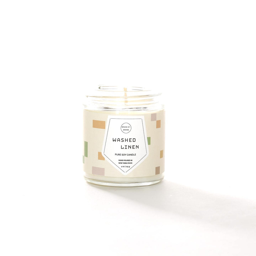 Broad Street Candles / Washed Linen
