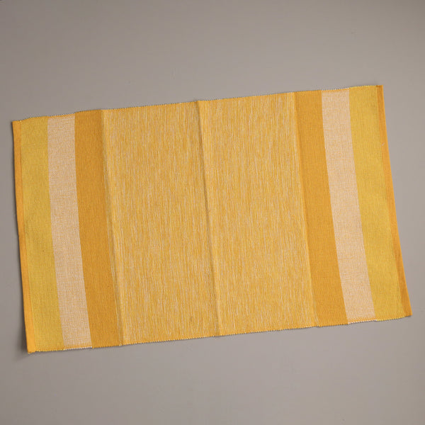 Recycled Spun Placemats / Yellow
