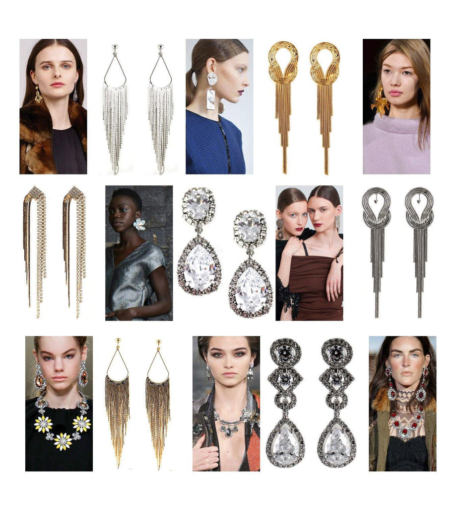 2015 Fall Fashion Trend - Statement Earrings – Return of 1980s Fashion and 1990s Fashion