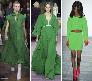 Summer Fashion Guide: How to Wear Summer 2016 Color Trends #10 Flash Green