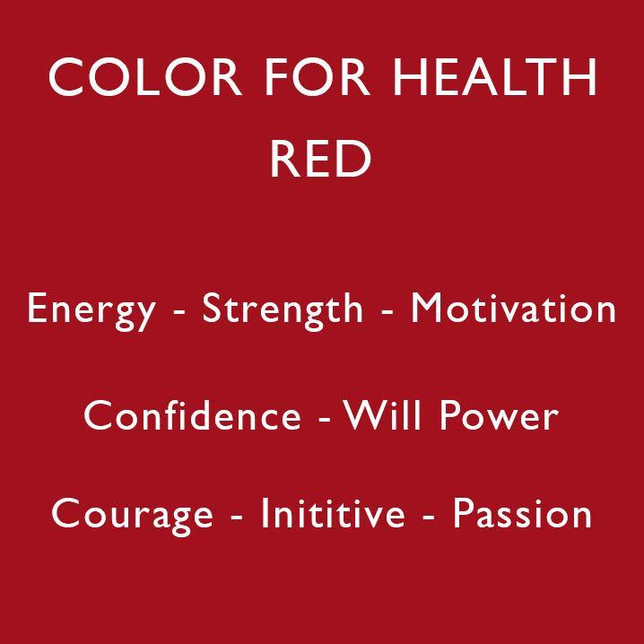 Color For Health: Red