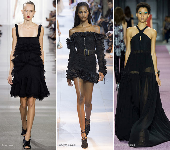 summer 2016 fashion trends color traditional black