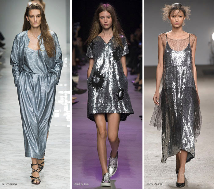 summer 2016 fashion trends color futuristic silver